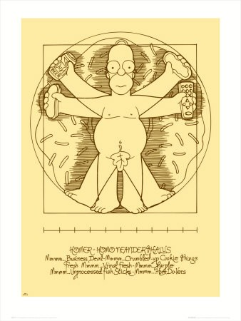 SB0015~The-Simpsons-Vitruvian-Homer-Affiches.jpg